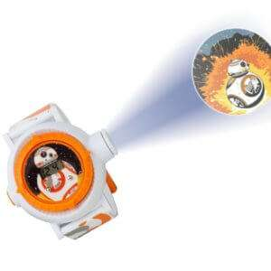 Idea regalo Orologio BB-8 con proiettore