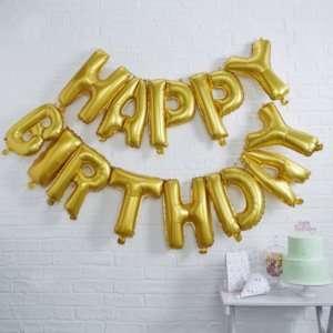 Idea regalo Palloncini Happy Birthday