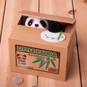 Regalo Salvadanaio Panda animato