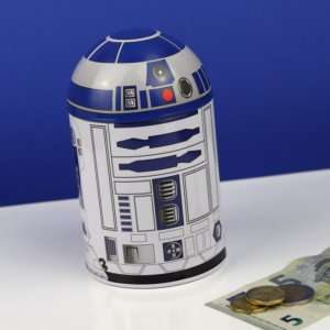 Idea regalo Salvadanaio R2-D2 di latta