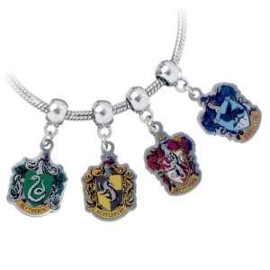 Regalo Set charm Harry Potter Case di Hogwarts