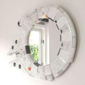 Idea regalo Specchio Millennium Falcon