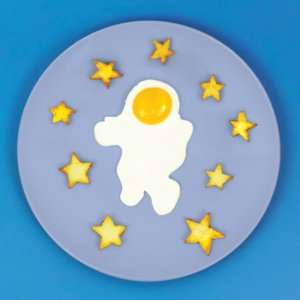 Idea regalo Stampo per uova  Astronauta
