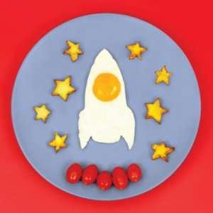 Idea regalo Stampo per uova  Rocket