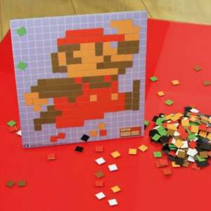 Regalo Super Mario Pixel Craft
