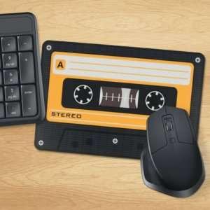 Idea regalo Tappetino per mouse Musicassetta