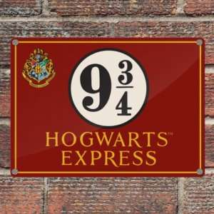 Idea regalo Targa Hogwarts Express (A5)