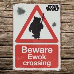 Regalo Targa Star Wars – Ewok
