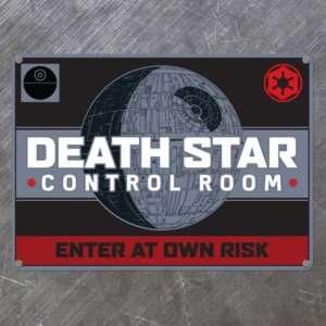Regalo Targa Star Wars – Morte Nera