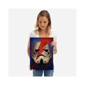 Idea regalo Targa Star Wars Stormtrooper Ziggy