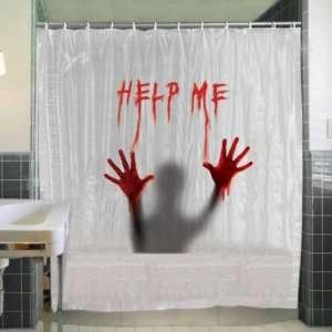 Regalo Tenda da doccia Horror