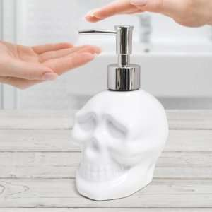 Idea regalo Teschio dispenser di sapone