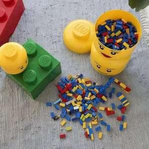 Idea regalo Testa LEGO gigante portaoggetti